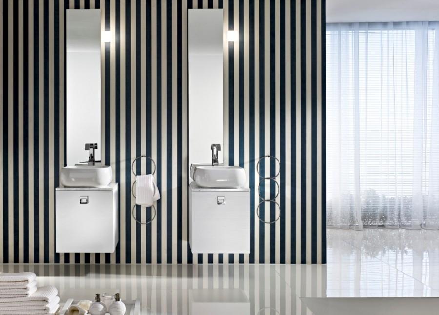 Lavandini Bagno Salvaspazio : Bagno: il doppio lavabo raddoppia lo spazio e aumenta la