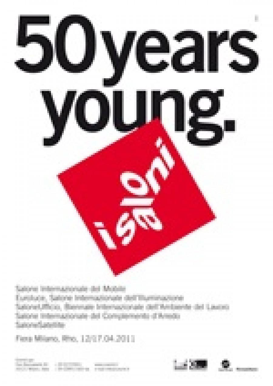 Il Salone Internazionale del Mobile 2011 ad aprile con i suoi 50 anni di giovinezza