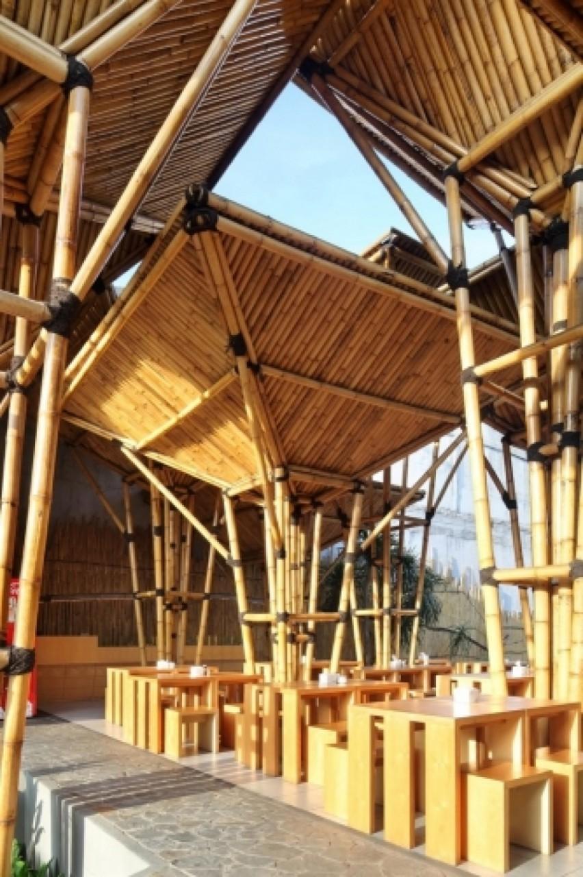 Il bamboo: un'idea costruttiva vincente per l'outdoor