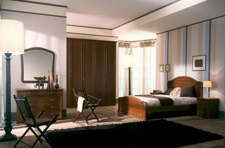 Galleria fotografica camere da letto classiche for Disegni casa 4 camere da letto