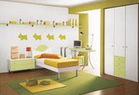 Scegliete delle camerette colorate per i vostri bambini!