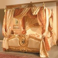 Il letto a baldacchino camere da letto moderne e classiche - Letto baldacchino bambina ...
