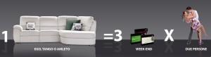 Promozione divano All inclusive di Doimo Sofas