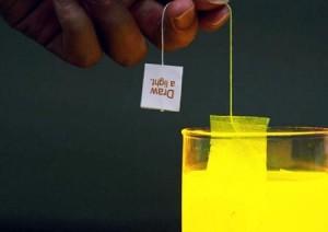 Lighting bag, fare luce in un bicchiere