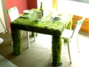 """""""Déjeuner sur l'herbe"""": il tavolo vivant fatto di piante"""