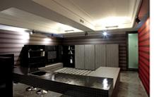 Cucine T45 Living firmate Semprini per TM Italia