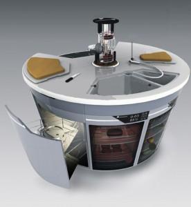 Cucine circolari: poco spazio per tanta mobilità - Cucine moderne e ...